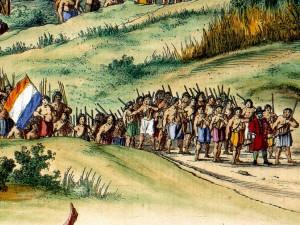 Tapuias armados e treinados pelos holandeses