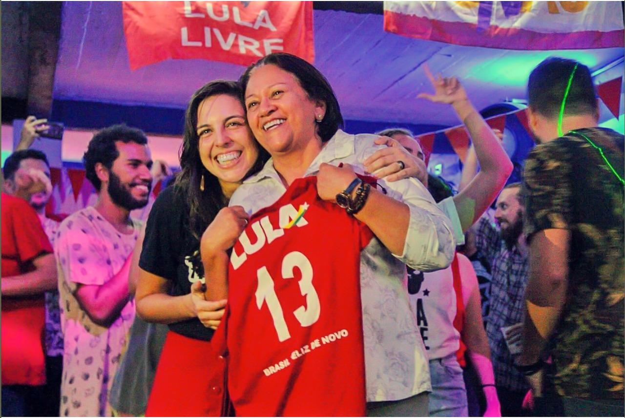 Natália Bonavides promove debate com Fátima Bezerra - Carta Potiguar